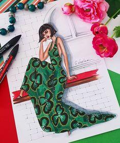 Este posibil ca imaginea să conţină: 1 persoană Fashion Design Sketchbook, Fashion Design Portfolio, Fashion Design Drawings, Fashion Sketches, Fashion Drawing Dresses, Fashion Illustration Dresses, Croquis Fashion, Fashion Figures, Dress Sketches