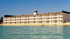 Mackinaw City Hamilton Inn!! Where we are staying!! @Jenna Brown can't wait!!!