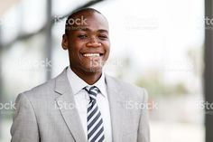 african american male corporate worker royalty-free stock photo