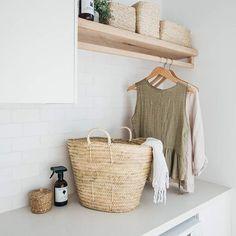 Home Decor / Minimal Interior Design Inspiration – Laundry Room İdeas 2020 Küchen Design, Home Design, Interior Design, Design Ideas, Diy Interior, Laundry Room Design, Laundry In Bathroom, Laundry Rooms, Small Bathroom