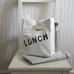 Organic Cotton Lunch Bag - $19