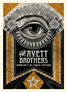 Avette Brothers by Status Serigraph