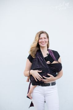Cradle Carry Nursing Baby in a Wrap