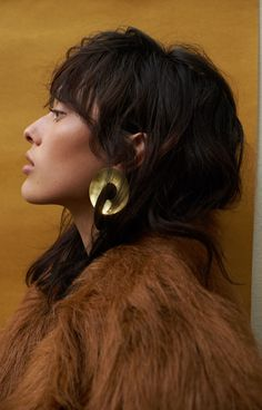 Our Best-Kept Shopping Secret Finally Launched E-Commerce #refinery29  http://www.refinery29.com/2016/11/130724/the-frankie-shop-online-store-launch#slide-3  Fay Andrada Disc Earrings, $275, available at The Frankie Shop....