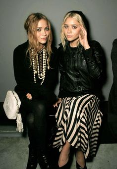 Mary Kate + Ashley Olsen