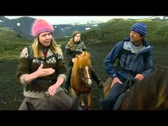 Niolas Hulot made a documentary on nature and landscape in Iceland in 2009, just before the two eruptions took place.   He took a horseback ride over the highland desert Mælifellssandur and we had a chat on the way.