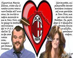 Cupido rossonero ha fatto centro tra il giovanotto Matteo e la signorina Maria Elena?