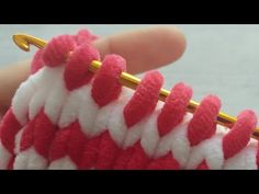 tığ işi kadife ipten bebek battaniyesi örgü tunisian crochet modelleri / kadife battaniye modelleri - YouTube Baby Knitting Patterns, Crochet Stitches, Crochet Baby, Diy And Crafts, Blanket, Youtube, Japanese, Ethnic Recipes, Baby Afghans