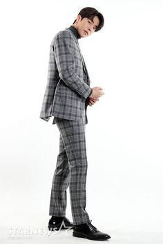 Nam Joo Hyuk | #NamJooHyuk Nam Joohyuk, Joo Hyuk, Foto Bts, Normcore, Actors, Suits, Style, Fashion, Outfits