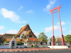 Wat Suthat Thepphawararam in Bangkok Bangkok Shopping, Bangkok Hotel, Bangkok Travel, Where To Go, Wonders Of The World, Night Life, Places To See, Travel Photography, Thailand