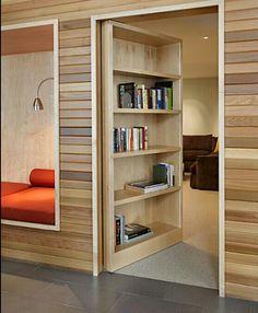 Hidden room/library door
