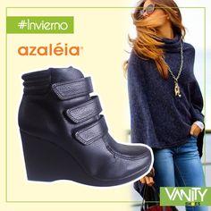 A prepararnos con el #invierno engañoso que esta próximo a llegar con Azaleia Perú y Vanity Shoes