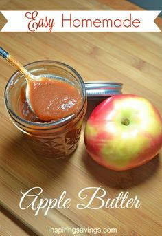 apple-season is here and if you are planning on doing some apple picking this fall then making easy homemade apple butter is a must try this recipe
