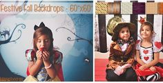 """Festive Fall Backdrops – 60""""x60""""!"""