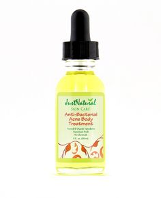 Anti-Bacterial Body Clear Treatment   Acne   Just Nutritive