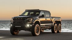 Ford Raptor VelociRaptor by Hennessey Performance First Drive, Weird Cars, Ford Raptor, Incredible Hulk, Cool Trucks, Dream Cars, Monster Trucks, The Incredibles, Vehicles