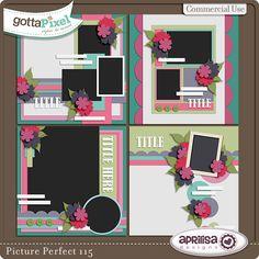 Designer Spotlight & Daily Download 1/30/16 :: Gotta Pixel  Picture Perfect 115 by Aprilisa Designs