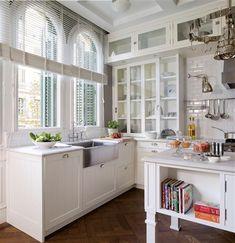 Una cocina de inspiración americana · ElMueble.com · Cocinas y baños##