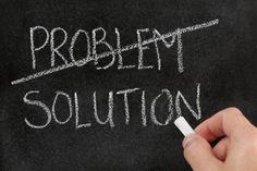 SE NON VEDI I PROBLEMI, NON TROVERAI LE SOLUZIONI.