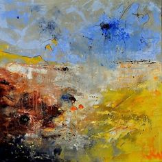 abstract 110121, painting by artist ledent pol