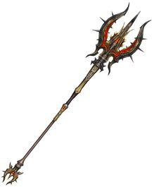 Junto com as novas atualizações, os jogadores de Lineage 2 tem 32 novas armas a sua escolha. Confira abaixo as imagens de todas as novas arm... Samurai Weapons, Anime Weapons, Fantasy Weapons, Fantasy Rpg, Desktop Background Pictures, Black Background Images, Lance Weapon, Trishul, Cool Swords