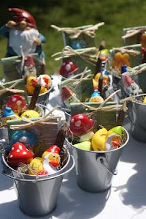Woodland/Gnome Party Favors