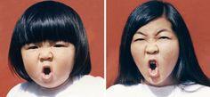 Die Frisur hat gewechselt, die Empörung bleibt: Lim 1986 und 2012 © 2014 Irina Werning. back to the future Bildband