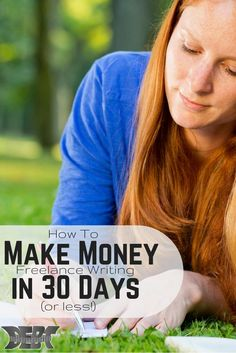 Want to learn how to make money freelance writing? Here is a way to start earning money in 30 days or less. This method works!
