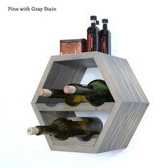 Nido de abeja de estante del vino estantes del vino la pared