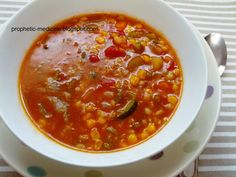 Tibb an Nabawi - The Medicine of the Holy Prophet (pbuh): Barley - Pearl Barley and Vegetable Soup Recipe.