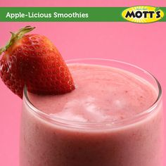 Did you know you can make Apple-Licious Smoothies with Mott's? Check out the recipe here.