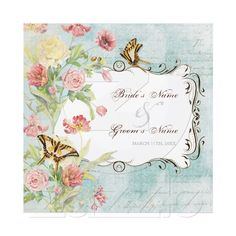 Original watercolor imagery, aged to a vintage French wallpaper feel.