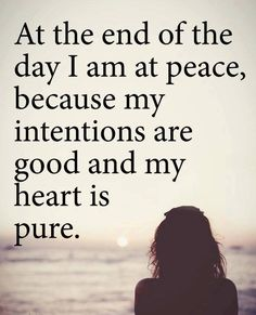 64 Best Peace Of Mind Quotes And Sayings Peace Of Mind Quotes, Quotes To Live By, Inspire Quotes, Favorite Quotes, Best Quotes, Love Quotes, Quotes Girls, Badass Quotes, Quotes Quotes