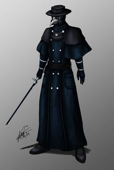 Plague Doctor Maximillian by McLaggington on DeviantArt