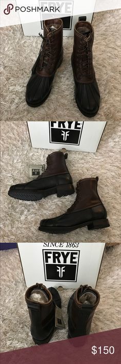 NWT Frye Veronica Duck boots size 10 New in box. Size 10 Frye Shoes Combat & Moto Boots