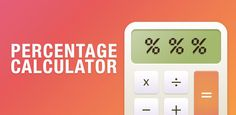 Percentages Calculator - an indispensable application for anyone who needs to calculate the percentage in their daily life or at work. Do you want to know how much the price increased or how much tips you have to leave to the waiter? With a Percentages Calculator all you need to do is enter source data and get the number you are looking for. Don't waste your time, calculate the percentage easily and quickly with the Percentages Calculator app!