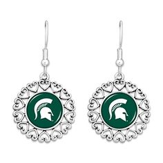 Michigan State Spartans Logo Circle Earrings with Hearts by Sports Team Accessories, http://www.amazon.com/dp/B01MYB2QAP/ref=cm_sw_r_pi_dp_x_Gf2mzbKRY9RTM