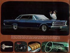 1965 Ford LTD 4 door hardtop