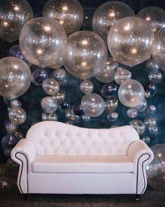 Big Balloons, Baby Shower Balloons, Balloon Centerpieces, Balloon Decorations, Cheer Banquet, Balloon Words, Pearl Party, Celebration Balloons, Glamour Decor