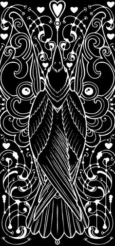 Gothic Crow/Raven Square Cross Stitch Chart now available at… Quoth The Raven, Raven Art, Jackdaw, Crows Ravens, Wow Art, You Draw, Bird Art, Bird Feathers, Journaling