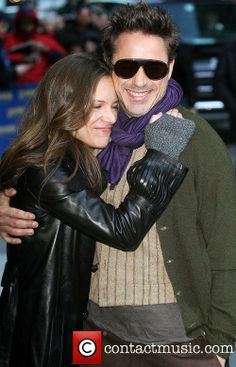 Robert and Susan Downey