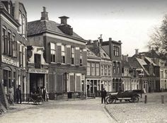 Groningen<br />De stad Groningen: Het Kattendiep in 1920