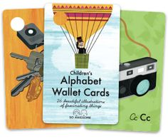 Wallet Cards | So Awesome LLC - Creators of Children's ABC Wallet Cards