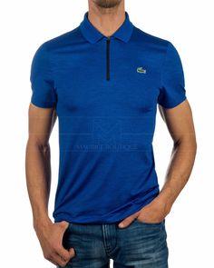 Polo Shirt LACOSTE © Sport Novak Djokovic Paquebot Cobalt Blue Lacoste Polo Shirts, Lacoste Sport, Shirt Sale, Boutique, Online Shopping Clothes, Cobalt Blue, Polo Ralph Lauren, Mens Fashion, Sports