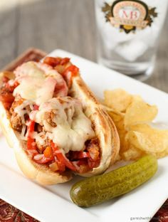 Italian Sausage Hoagies