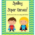 Spelling Super Heroes!This is a read the room freebie that will have your students finding and recording words with the silent letters gh, e, a...
