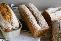 Eltefritt brød uten gryte No Knead Bread, Baking, Breads, Bread Making, Patisserie, Backen, Braided Pigtails, Buns, Sweets