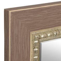 Driftwood Framed Mirror 30x42 In