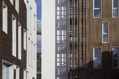 Schwelle zwischen Latte und Putz - Wohnhaus bei Paris von Gemaile Rechak
