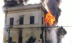 ... rescued from last month's fire at the Egyptian Scientific Institute, according to Zein Abdel-Hady, Chairman of Egypt's National Library and Archives.